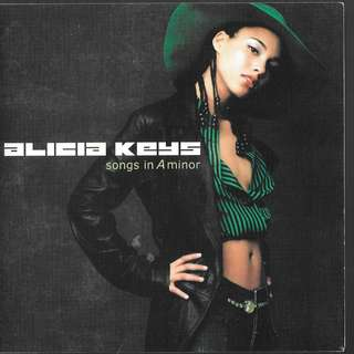 MY CD - ALICIA KEYS -SONGS IN 'A' MINOR //FREE DELIVERY BY SINGPOST.