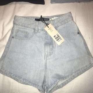 Denim shorts BNWT