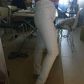 White jeans new with tag Asos