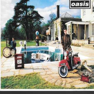 MY CD - OASIS BE HERE NOW //FREE DELIVERY BY SINGPOST.