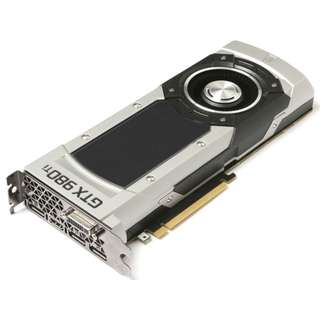 Zotac GeForce GTX 980Ti Reference graphic card ( rare model , 6gb )