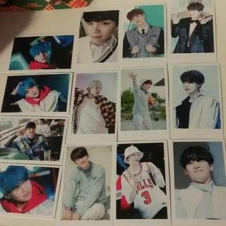 100 Suga BTS Bangtan photocards kpop