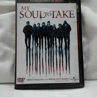 MY SOUL TO TAKE (Horror movie rated NC16)