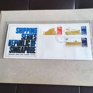 1.11.70. Spore FDC Shipping Series