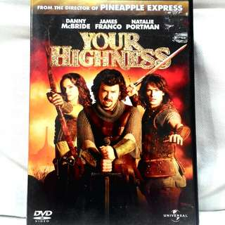 YOUR HIGHNESS (starring Danny McBride, James Franco, Natalie Portman)