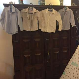 Smart shirts for boys