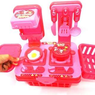 mainan anak - kitchen set