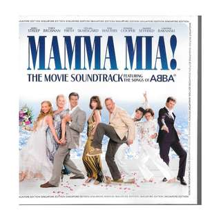 MY CD - MAMA MIA = POLIDOR /////FREE DELIVERY BY SINGPOST.