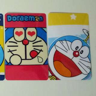 Doraemon Ezlink card stickers