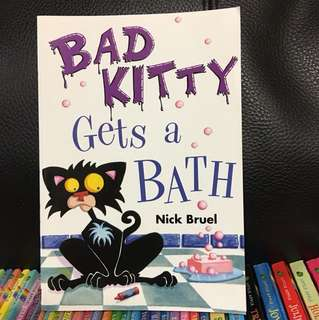Bruel Bad Kitty Gets A Bath Book ☆ Japan Purchase ☆
