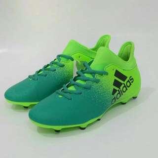 Sepatu Bola Adidas X 16.3 FG Green Original