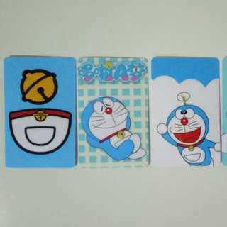 Ezlink Card stickers (Doraemon)