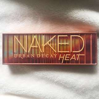 Authentic naked heat palette
