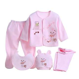 Newborn baby set 5pcs