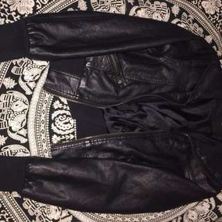 PRICE REDUCTION: Leather Jacket