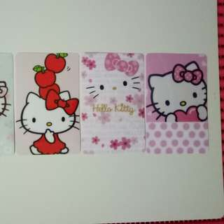 Ezlink Card stickers (Hello kitty)