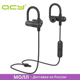 Qcy Qy11 Bluetooth Ear Hook Sport Sweatproof Headset