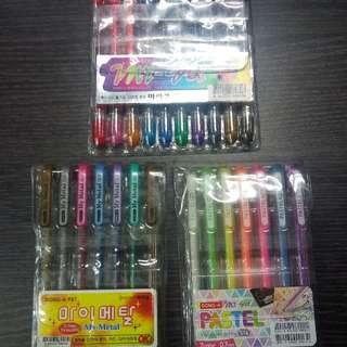 Dong-A Gel Pen Set