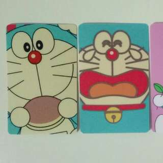 Doraemon stickers for ezlink card