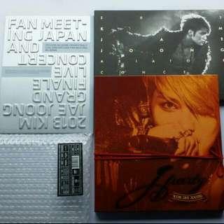 【僅拆】JYJ 金在中 JAEJOONG DVD (1) 2013 GRAND FINALE LIVE CONCERT & FAN MEETING JAPAN (2) 2013 ASIA TOUR CONCERT IN JAPAN (3) ASIA TOUR CONCERT JPARTY