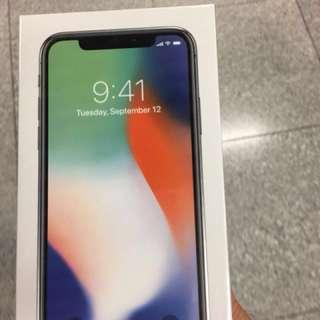 iPhone X 64GB Space Gary New 全新沒有開盒 $8000 有單