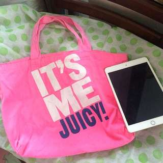 Pink Shoppers Bag