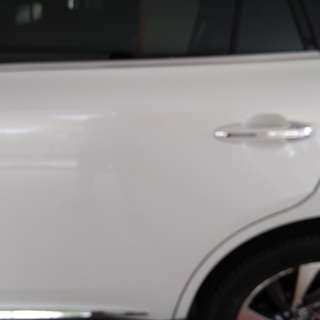 Toyota Harrier invisible car door bumper protection