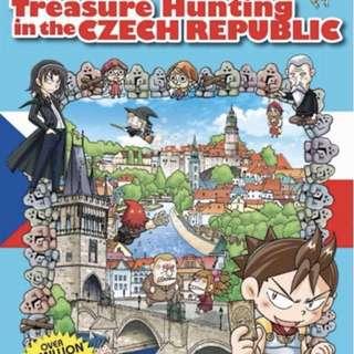 TREASURE HUNTING IN CZECH REPUBLIC book for sale !