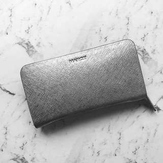 Authentic Marcs Metallic Silver Wallet