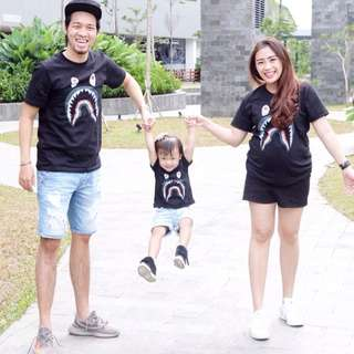Bape family shirt