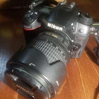 Nikon D7000 kit lens 18-105mm