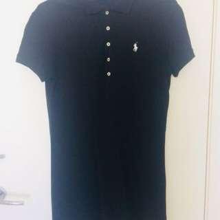Ralph Lauren Black T-Shirt Dress
