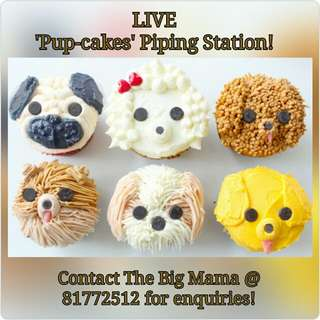 CNY 'LIVE' Stations - Year of the Dog themed CNY 'LIVE' Stations!