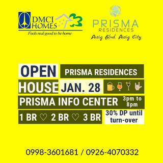 DMCI HOMES CONDO IN PASIG FOR AS LOW AS 13K/MO. ONLY