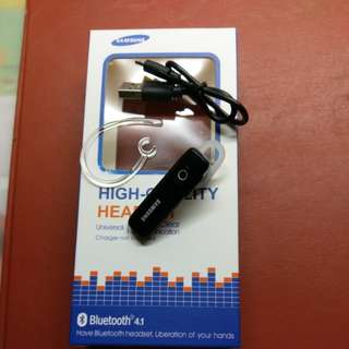 SamSung High-Quality Headset Bluetooth4.1