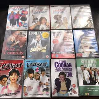 British comedy DVD's