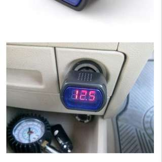 Voltmeter Car Digital
