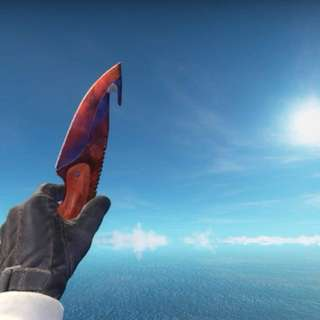 Gut Knife Fire and Ice FN