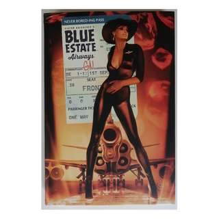 Blue Estate (graphic novel, hardcover compilation of whole series)