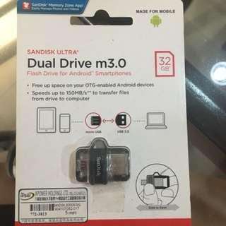 Sandisk dual drive usb