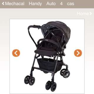 Combi Auto 4 stroller (almost new)