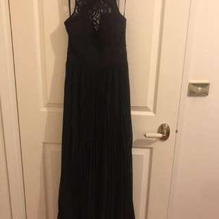 Bariano- formal/bridesmaid dress Black