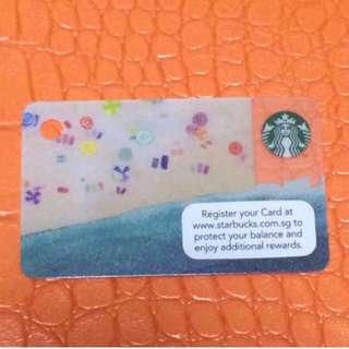 Limited Edition Mini Size Starbucks Card
