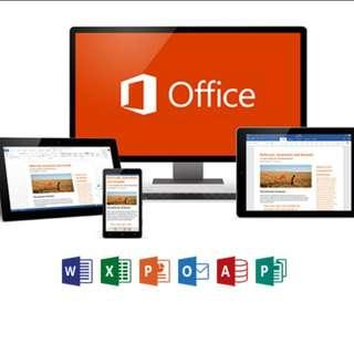 💜 Office 365 - 內含 Office 2016