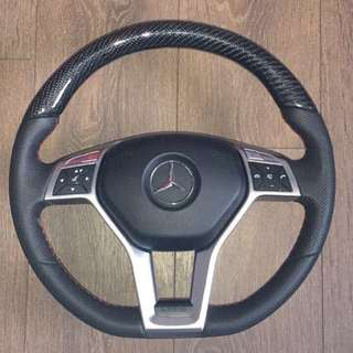 Rare* AMG Carbon steering wheel with paddle shift and airbag