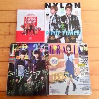 Super Junior 寫真 遊記 雜誌