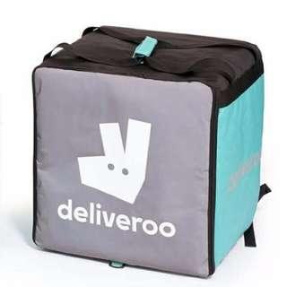 New Deliveroo bag