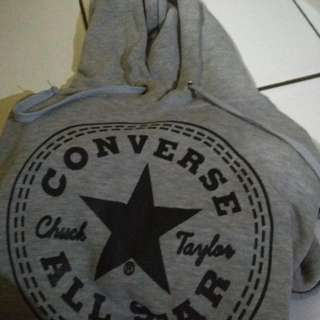 Jaket Hoodie Converse Premium