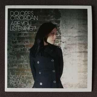 The cranberries Dolores O'Riordan's original promo CD