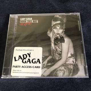 Brand new - Lady Gaga Born This Way The Remix
